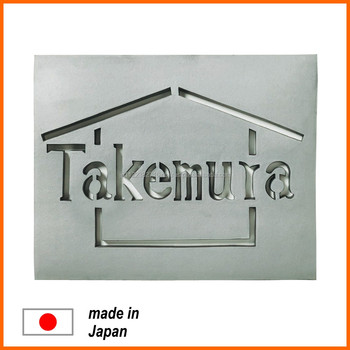 Stylish And Fashionable Glass Name Plate For House With Modern Design Buy Glass Product On