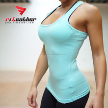 cotton women custom wholesale tank tops athletic gym singlets