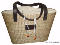 Vietnam seagrass handbags, Vietnam decorative handmade seagrass handbag, Fabric seagrass handbag