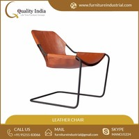 Paulistano Official Leather With Arm Rest Arm Chair