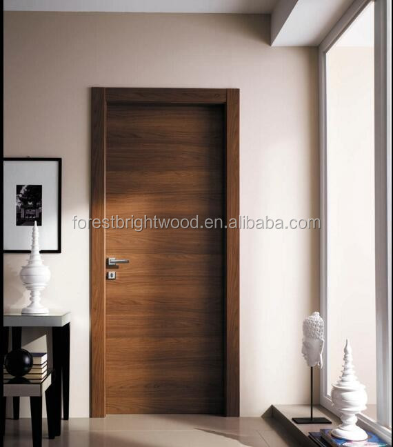 Wholesale Interior Flush Door Price Wooden Interior Door