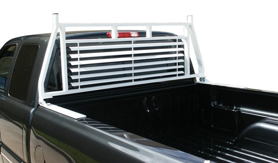 Universal Aluminum Pickup Truck Rear Window Protector Headache Rack Cab Guard
