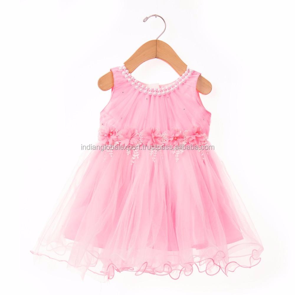 Perfecto Vestido Del Desgaste Del Partido Para Bebé Embellecimiento ...