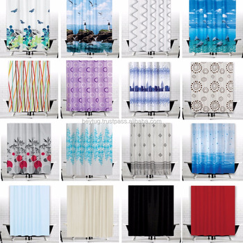 Great Fabric Shower Curtains Extra Wide And Long Made In TURKEY Polyester