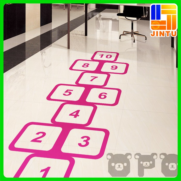 Large Format Digital Printing Floor Sticker Ground