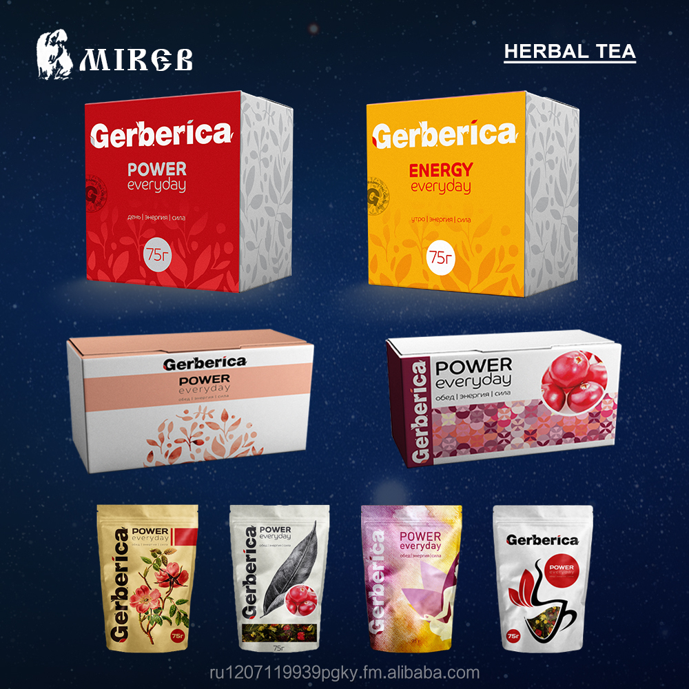 Herbal & Flavour Tea Gerberica 100 % Organic