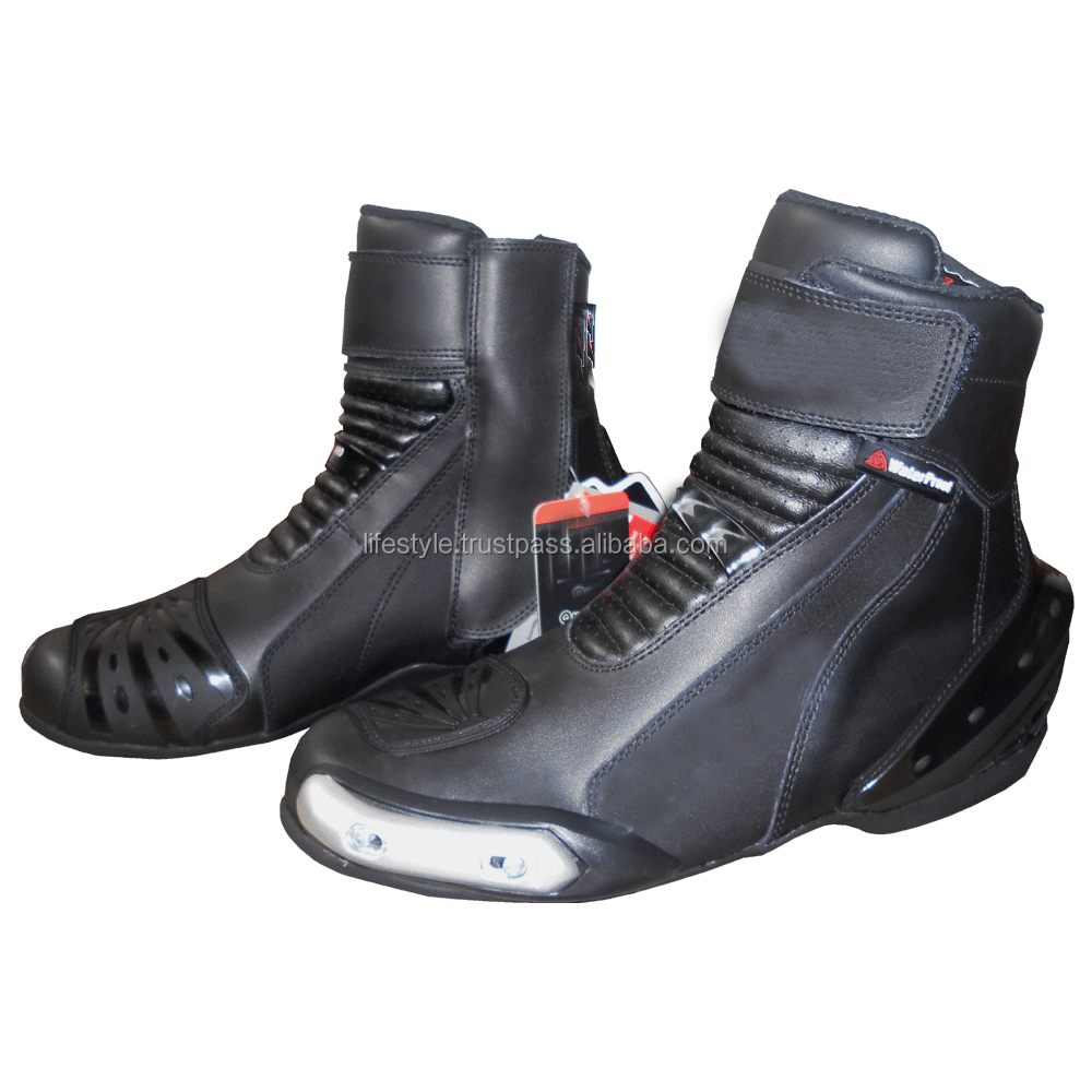 Funky Motorcycle Boots Boys Motorcycle Boots Motorbike Racing ...