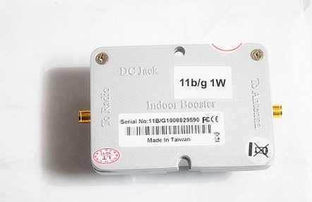 1W Broadband Wireless WiFi Router 2 4GHz Signal Booster Power Amplifier