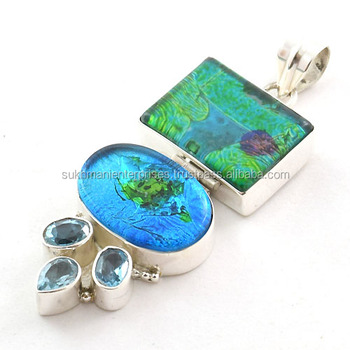 Dichroic glass jewelry 925 sterling silver jewelry valentine dichroic glass jewelry 925 sterling silver jewelry valentine jewelry wholesale glass pendants aloadofball Image collections