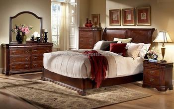 Houten Slaapkamer Meubels : Cherry slaapkamer meubels gemaakt in vietnam houten meubels buy