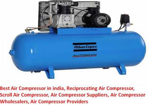 Best Air Compressor in india, Reciprocating Air Compressor, Scroll Air Compressor