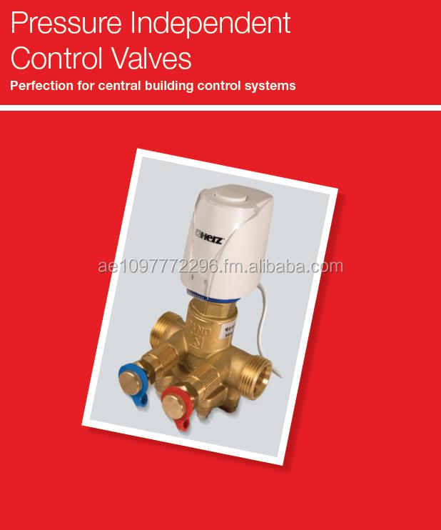 Pressure Independent Balancing Control Valve Pn25 Copper