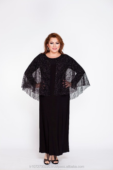 Luxury Wholesale Plus Size Long Dress With Lace Shawl For Women - Buy  Stylish Plus Size Women\'s Dress,Plus Size Dress Models,Wholesale Plus Size  Woman ...