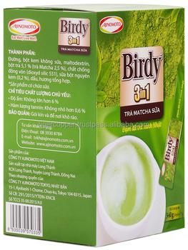 Birdy 3 In 1 Matcha Milk Tea Box 340g (20 Sachets X 17g) - Buy Matcha Milk  Tea,Birdy Matcha Milk Tea,Instant Matcha Milk Tea Product on Alibaba com