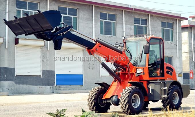 Low Consumption And Cost Telescopic Forlift Loader 3 Ton