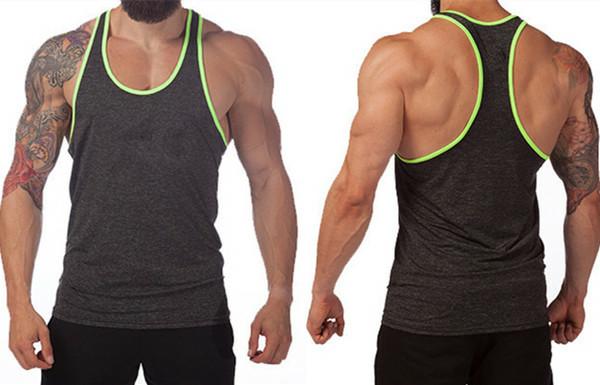 4e13ac8def665 Zega Apparel Bodybuilding Gym Singlet  Stringer Vests  Plain cotton gym  tanktops