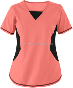 Scrubs New & Improved V-Neck Top with Stretch Panels