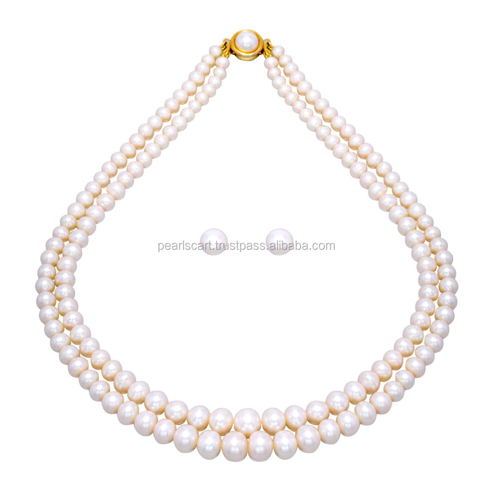 price cultured white item necklaces in chain elegant wholesale jewelry black women original pearl pearls natural akoya necklace from design