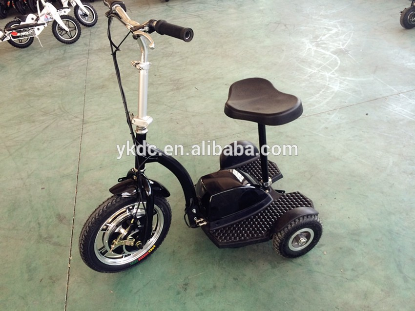 3 wheels adult scooters