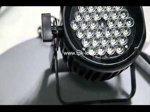 Outdoor DMX RGB LED Stage Light 40W/UL/CE/RoHS/LED-PAR64-B-36P