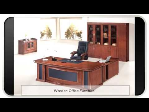 Smart Wooden Office Furniture I Dreamy Wooden Office Furniture