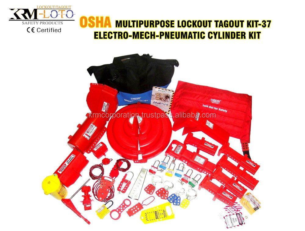 lock out tag out kits buy osha loto kitlockouttagout kitsafety kit product on alibabacom - Lock Out Tag Out Kits