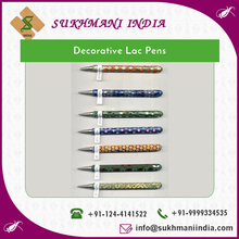 Low Price Long-Lasting Decorative Pen in Lac for Sale at Nominal Price
