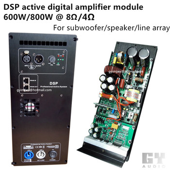 Dsp Active Speaker Amplifier Module /subwoofer Amplifier/ Line ...