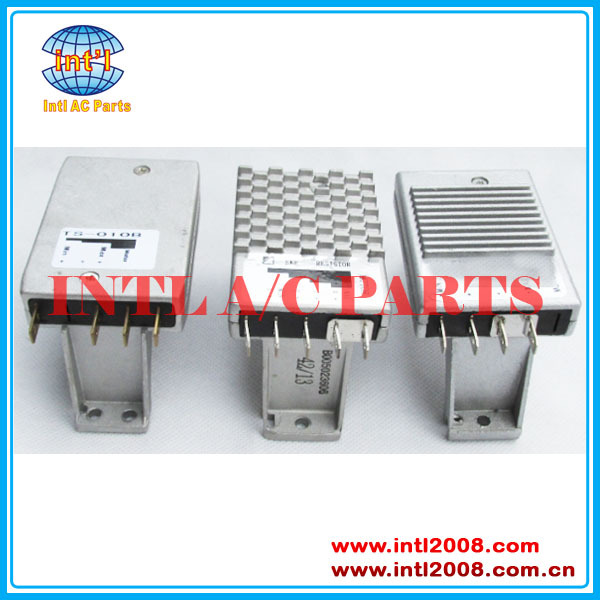 4 Terminal auto ac Blower motor resistor Spal apply for Red