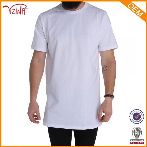 China Supplier 95% Cotton 5% Spandex Plain White T-shirt With Man ...