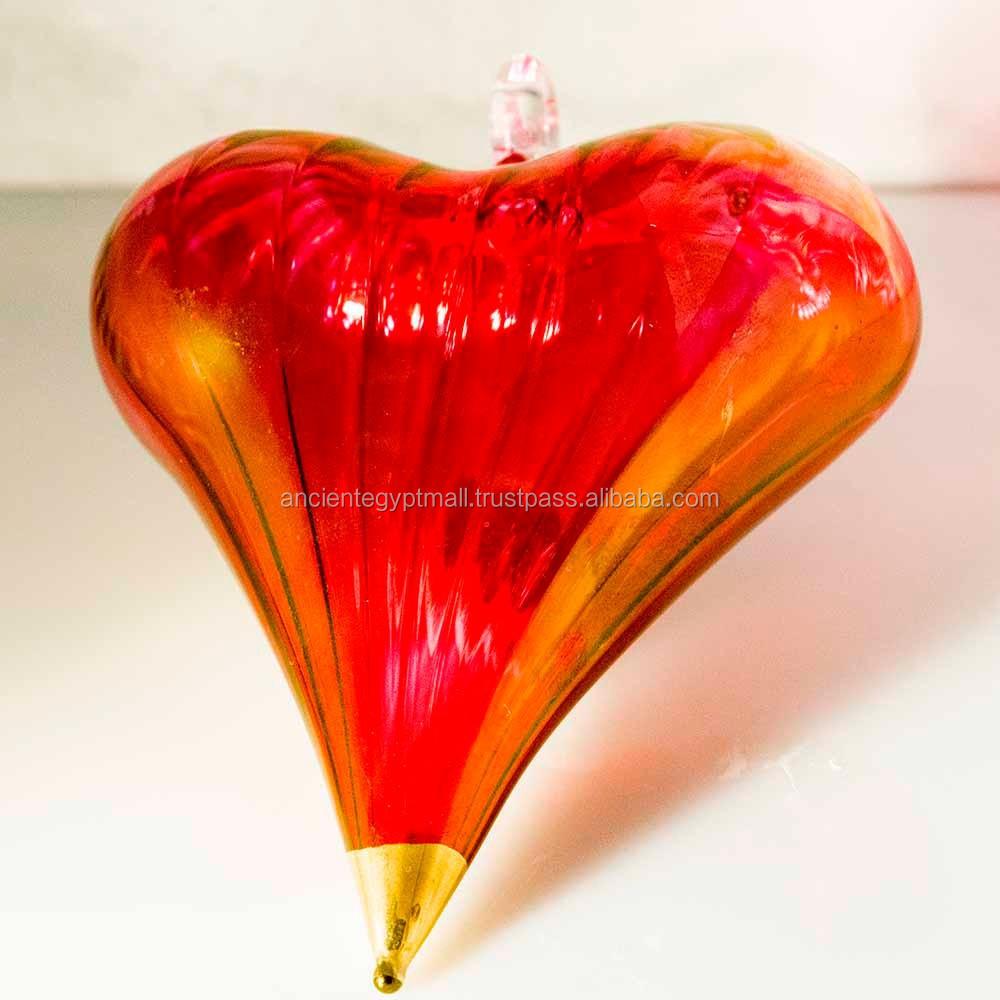 Glass heart christmas ornaments - Glass Heart Ornament Glass Heart Ornament Suppliers And Manufacturers At Alibaba Com