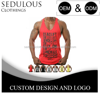 15795d45635959 Customized Mens Gym Vest Or Stringer Tank Top - Buy Stringer Tank ...