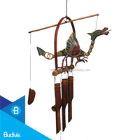 Popular Garden Decor Hanging Bamboo Wind Chimes Sound Tuned
