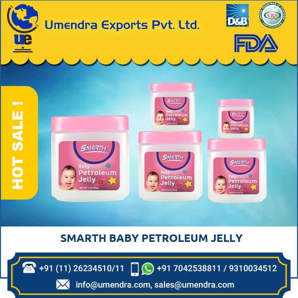 Skin Friendly Moisturizing White Petroleum Jelly for Kids / Babies