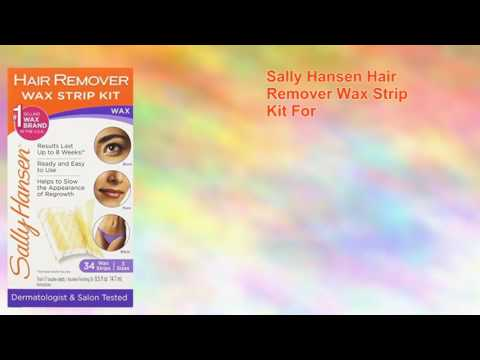 Sally Hansen Hair Remover Wax Strip Kit For