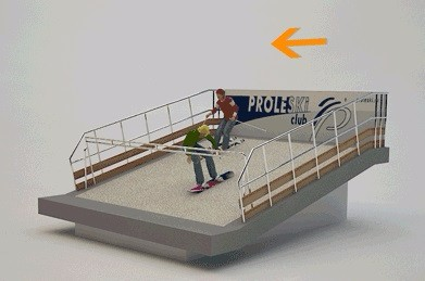 Indoor training on endless ski slopes High-quality fitness machine Buy in Germany Proleski ski and snowboard simulator