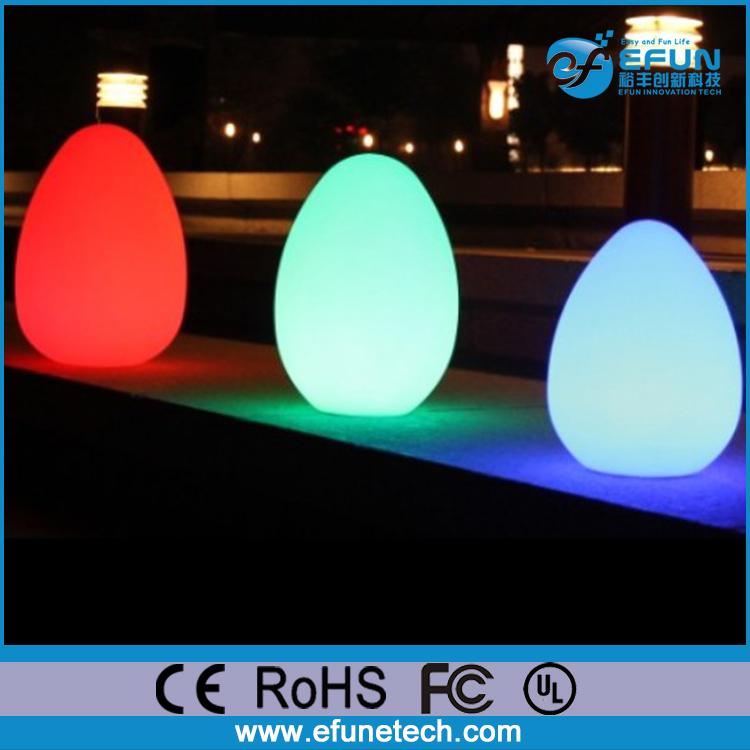 Remote control rgb color changing decorative led for Decoration exterieur led