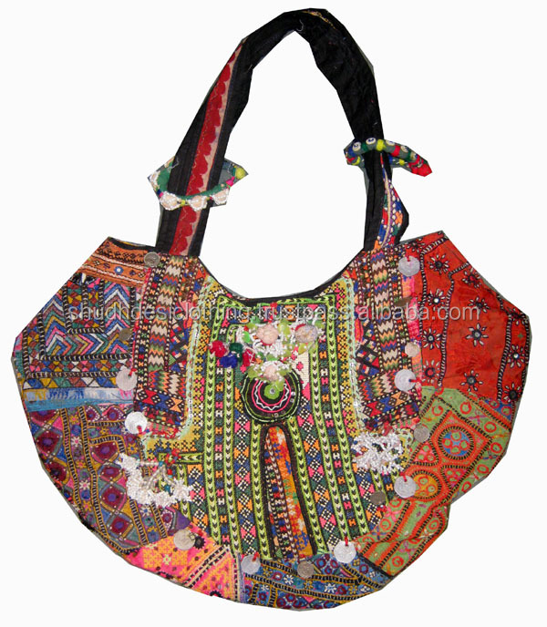 Women S Handmade Traditional Handbags Or Banjara Bags Vinatge Las Vintage India