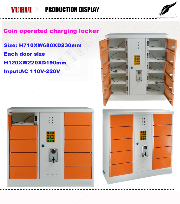 Coin operated cell phone charging station buy coin Cell phone charging station