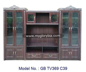 Large Antique Tv Cabinet With Glass And Showcase Antique Led Tv