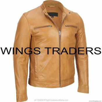buy online c58a9 8bd3d Kamelfarbene Leder-winterjacken Für Herren - Buy Leder Jacken Für  Jungen,Natürliche Lederjacken,Echte Lederjacke Product on Alibaba.com
