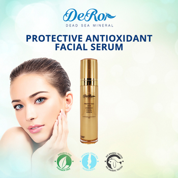 facial day serum with dead sea minerals