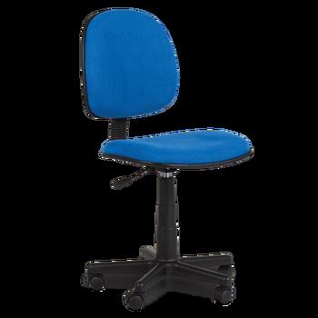 middle back ergonomic armless desk computer office fabric swivel