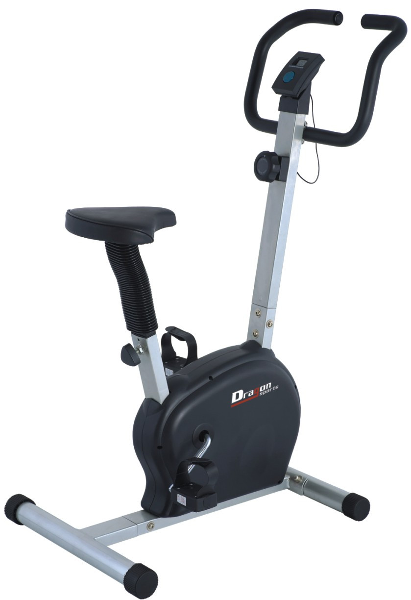 Belt Drive Exercise Upright Bike with Adjustable Seat