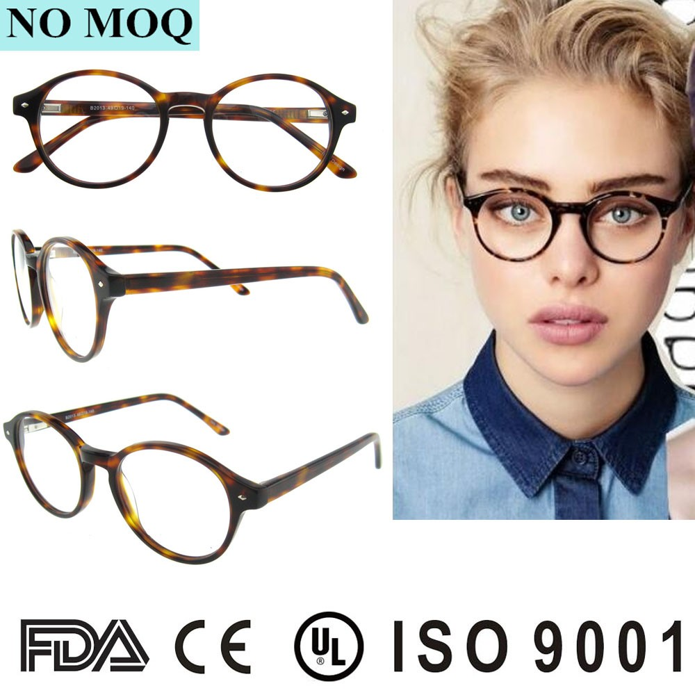 2016 Vintage Eye Glass Frames No Moq Latest Designer Round Glasses ...