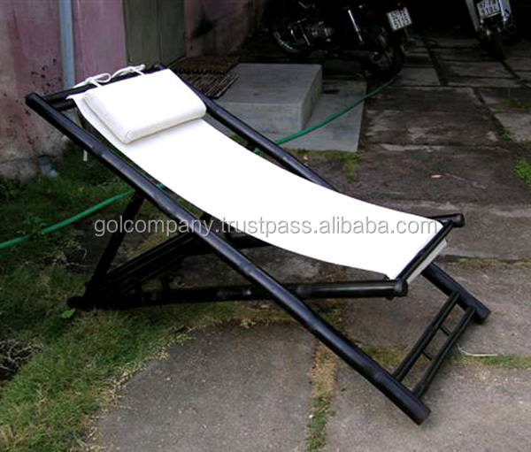 comercio al por mayor plegable de bambrelax silla silln de playa de