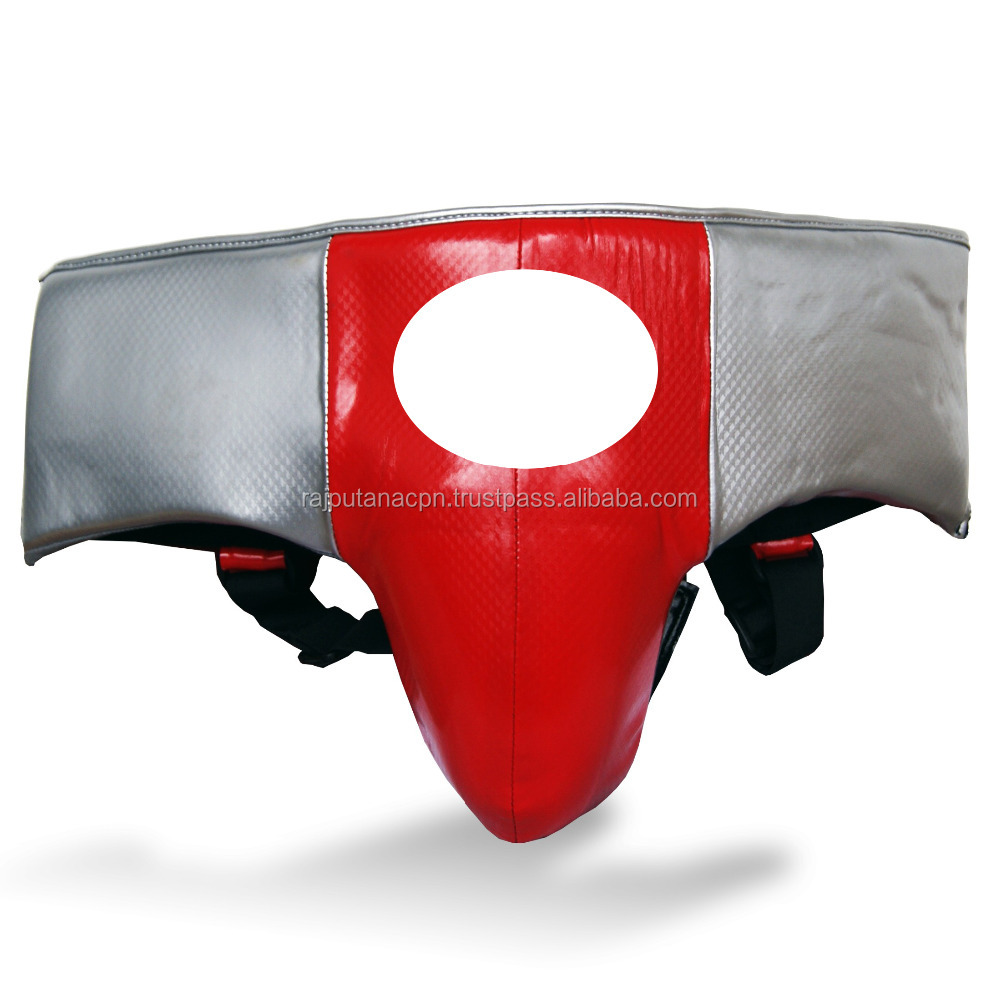 Martial Arts Groin Guards Boxing Groin Guards Protective Equipment MMA Protector Custom Made