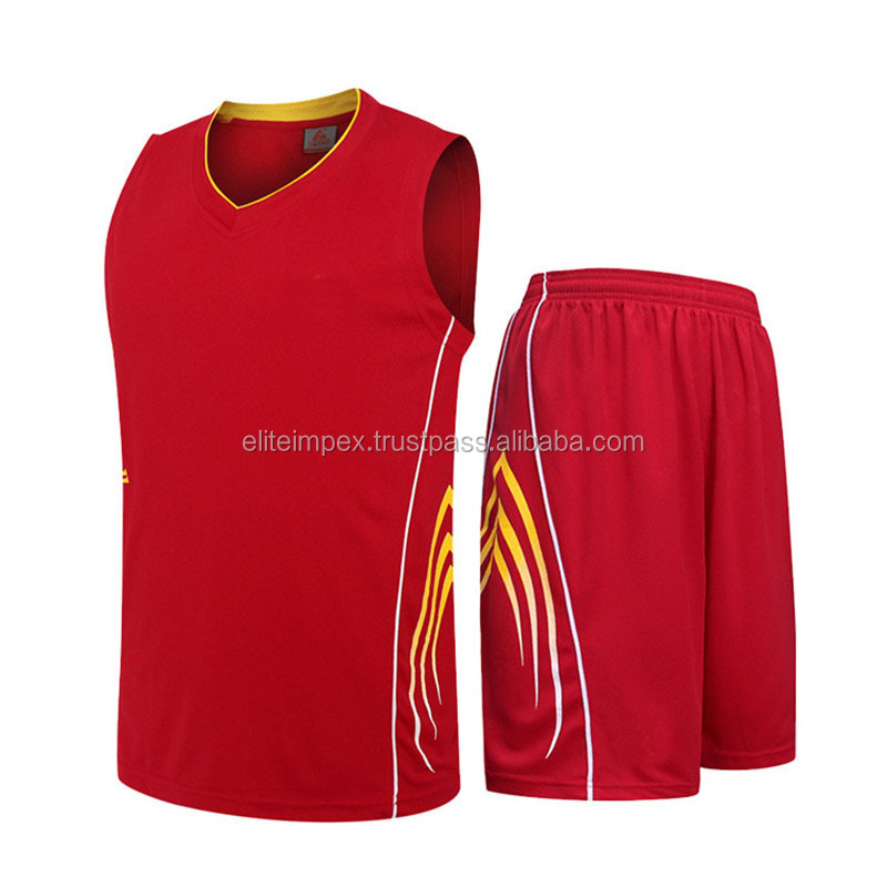 Jugend reversible Basketball Trikots