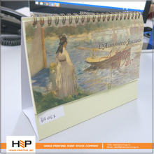Customized table / daily office desk calendar printing service