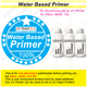 (1101) water based primer for printing job for metal, tile, glass by uv printer